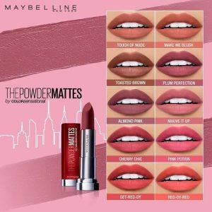 Maybelline Color Sensational The Powder Mattes liputantimes.com