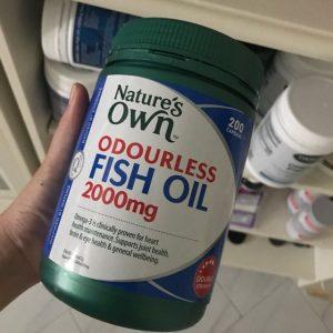Natures Own Odourless Fish Oil liputantimes.com