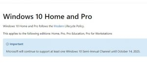 Ini Dia Jadwal Berakhirnya Windows 10 Liputantimes.com